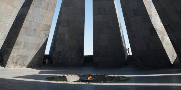 Tsitsernakaberd. Armenian Genocide Memorial. Yerevan.