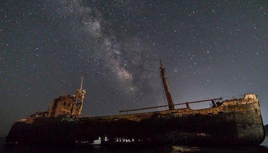 Ο Γαλαξίας στην Ελλάδα με τον φακό του Αλέξανδρου