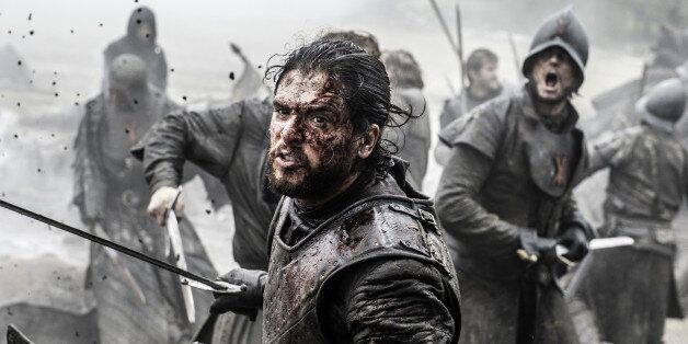 In this image released by HBO, Kit Harington portrays Jon Snow in a scene