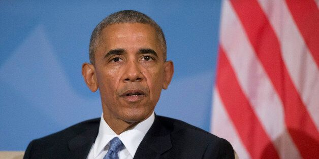 President Barack Obama comments to members of the media on the recent suicide attacks at Istanbul's airport...