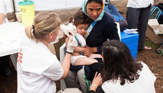 Γιατροί Χωρίς Σύνορα (MSF): Ιατρική περίθαλψη σε 9 εκατομμύρια ανθρώπους στον κόσμο, 55.000 πρόσφυγες στο