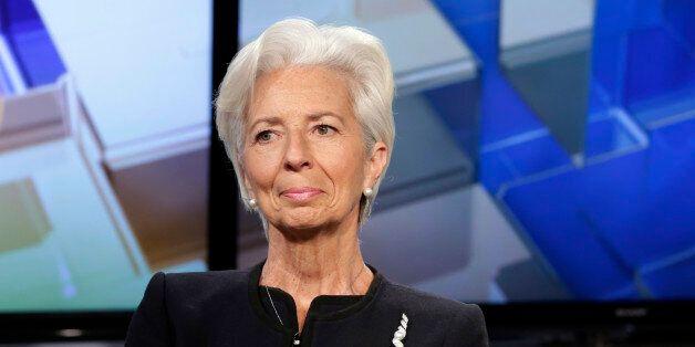 Christine Lagarde, Managing Director of the International Monetary Fund, is interviewed by Maria Bartiromo...