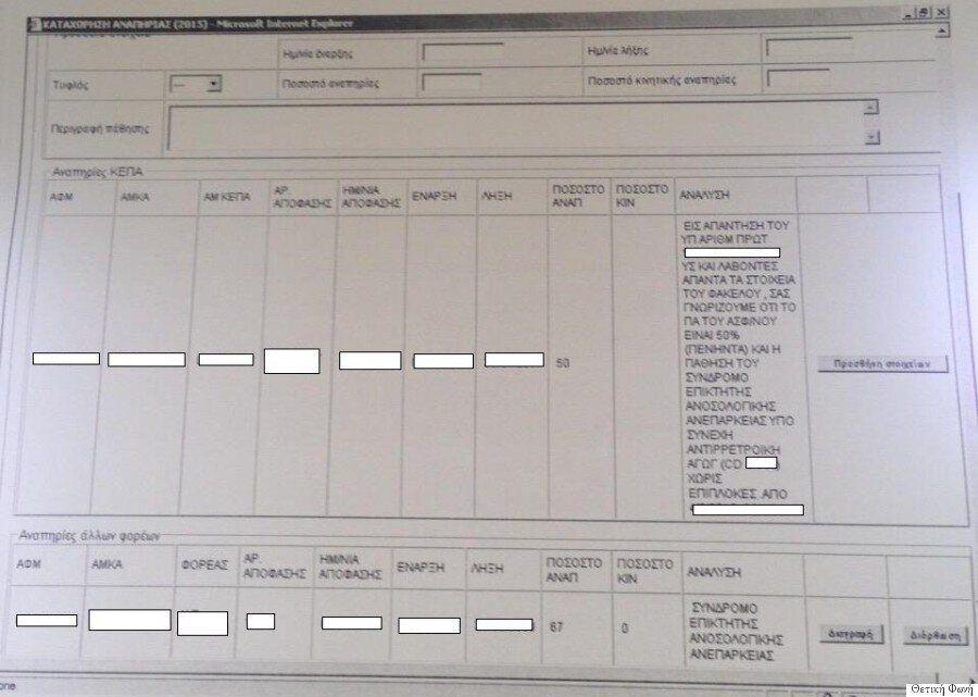 Τι συμβαίνει με το Taxis και τα προσωπικά δεδομένα των οροθετικών; Μια καταγγελία που γεννά