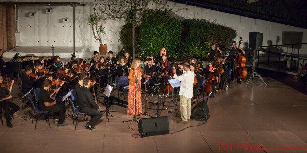 «I Love Athens»: Η Έλλη Πασπαλά και η Underground Youth Orchestra στον Κήπο του