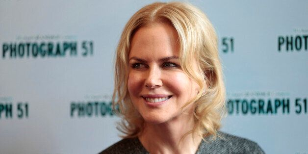 Photograph 51 cast member Nicole Kidman poses for a photograph at the Noel Coward Theatre in London,...