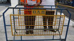 Εργαζόμενοι έκαναν κατάληψη στα γραφεία του ΟΛΠ. Κινητοποιήσεις για 22η