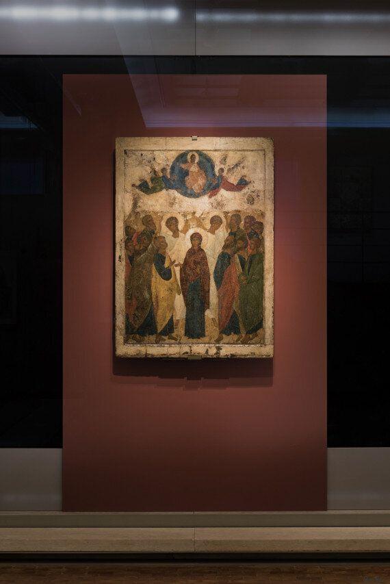 Η εικόνα της Ανάληψης του Αντρέι Ρουμπλιόφ στο Βυζαντινό και Χριστιανικό