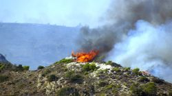 Πυρκαγιές στην Εύβοια και την Αρχαία