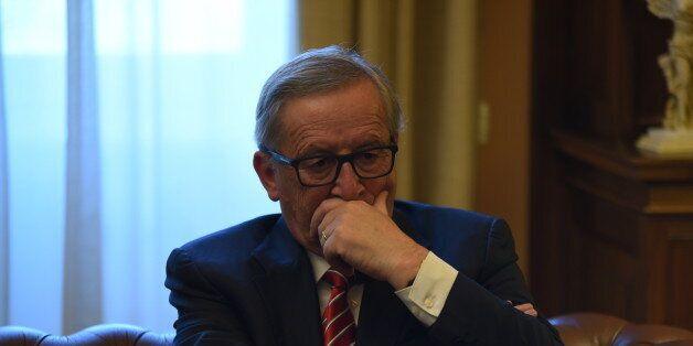 PRESIDENTIAL MANSION, ATHENS, ATTIKI, GREECE - 2016/06/21: Jean-Claude Juncker, President of European...