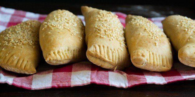 Πίτες με κιμά και