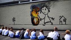 Ο Banksy έκανε το τέλειο δώρο-έκπληξη σε ένα δημοτικό σχολείο του