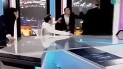 Ξύλο «στον αέρα»: Γροθιές μεταξύ μελών της αυτοδιοίκησης σε τηλεοπτική εκπομπή στη