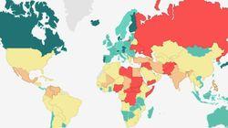 Μόλις δέκα χώρες στον κόσμο βρίσκονται σε κατάσταση απόλυτης