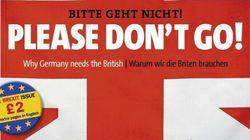 «Μην φύγετε!» παρακαλά το Spiegel τους