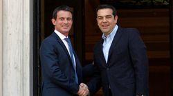 Συνάντηση Τσίπρα με τον πρωθυπουργό της Γαλλίας Βαλς. «Σταθήκαμε στο πλευρό της Ελλάδας και του λαού