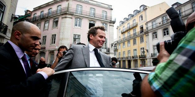Team leader of the International Monetary Fund (IMF) Poul Thomsen leaves the Portugal Popular Party (CDS-PP)...