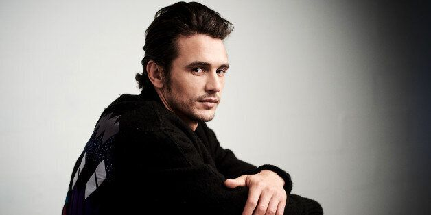 NEW YORK, NY - APRIL 16:  Actor James Franco from 'The Fixer' poses at the Tribeca Film Festival Getty Images Studio on April 16, 2016 in New York City.  (Photo by Larry Busacca/Getty Images for the 2016 Tribeca Film Festival )