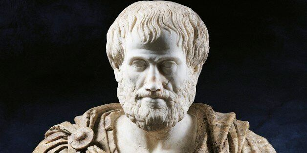 UNSPECIFIED - FEBRUARY 02: Bust of Aristotle (Stagira, ca 384 - Chalcis, 322 BC), Greek philosopher and...