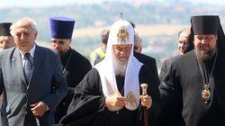 Στη Θεσσαλονίκη ο Πατριάρχης Μόσχας και Πασών των Ρωσιών, Κύριλλος. Υποδοχή στο αεροδρόμιο