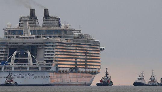 Το μεγαλύτερο κρουαζιερόπλοιο στον κόσμο μοιάζει με μικρή