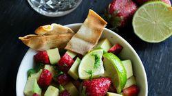 Σαλάτα με αβοκάντο και