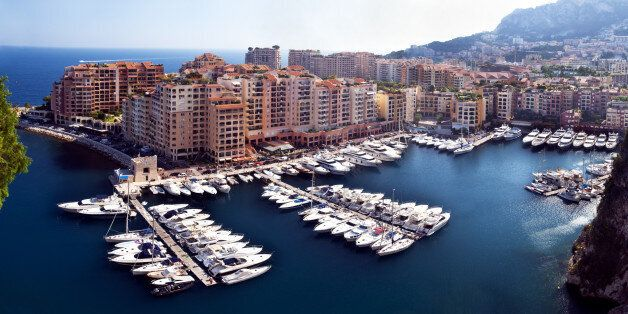 Fontvieille disrict and