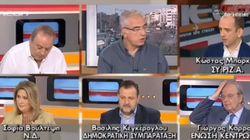 Ο βουλευτής του ΣΥΡΙΖΑ, Μπάρκας αποχώρησε από εκπομπή λέγοντας πως δέχθηκε απειλές από τον