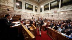 Ένταση και επεισόδια στη Βουλή για το πολυνομοσχέδιο με τα μέτρα για το κλείσιμο της