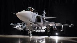 Gripen E: Το μαχητικό νέας γενιάς της παρουσίασε η σουηδική