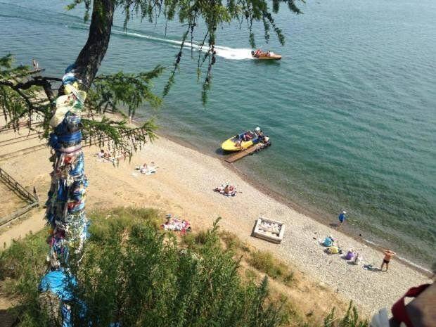 Υπερσιβηρικός: Listvyanka και λίμνη