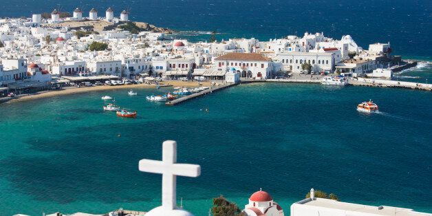 Lying in the southern Aegean and forming part of the Cyclades island group, Mykonos is a popular holiday...