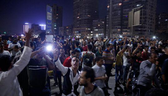 Manifestations anti-Sissi en Egypte, plusieurs