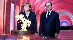 Κοινό μήνυμα Ολάντ-Μέρκελ υπέρ μιας ενωμένης Ευρώπης από το