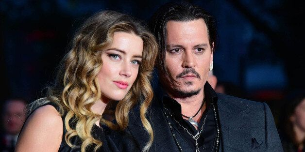 Photo by: KGC-42/STAR MAX/IPx 10/11/15 Amber Heard and Johnny Depp at the premiere of