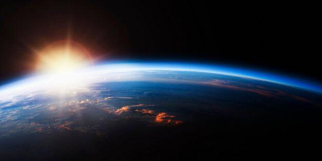 Sunrise over Planet