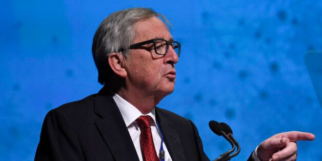 European Commission President Jean-Claude Juncker participates in the Forced Displacement: A Global Development...