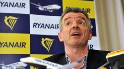 Πτώση στις τιμές των αεροπορικών εισιτηρίων βλέπει η Ryanair σε ενδεχόμενο