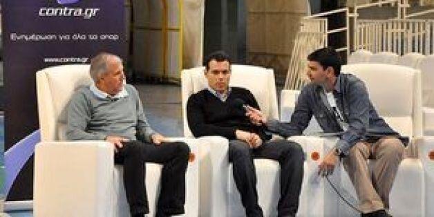 Η συνέντευξη Ζοτς-Ιτούδη στο Contra.gr: Τι έλεγαν για ΠΑΟ, φιλία και