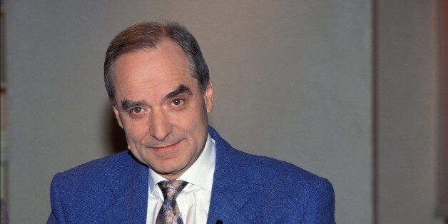FRANCE - APRIL 30: Andre Brahic in France on April 30th, 1999. (Photo by Frederic SOULOY/Gamma-Rapho...