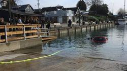 Γυναίκα έπεσε μέσα σε λίμνη ακολουθώντας τις οδηγίες του