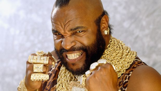 Mr. T Clenching Fists (Photo by Eric Robert/Sygma/Sygma via Getty Images)