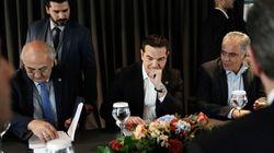 Τσίπρας στα εγκαίνια του αγωγού ΤΑΡ: Η Ελλάδα γίνεται ενεργειακός