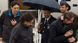 Στη Μαδρίτη επέστρεψαν οι τρεις Ισπανοί δημοσιογράφοι που είχαν απαχθεί στη