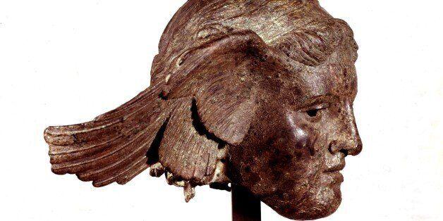 Μπρούντζινη κεφαλή του θεού Ύπνου, στο Βρετανικό