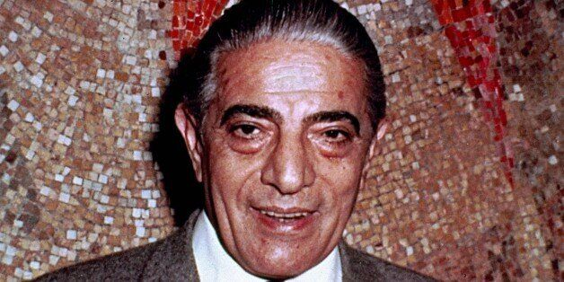 Shipping magnate Aristotle Onassis is shown in a photo from the late 1960's. (AP