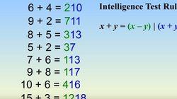 To τεστ νοημοσύνης που μπορούν να το λύσουν μόνο όσοι έχουν IQ πάνω από 150 και έχει 3 εκατ. shares στο
