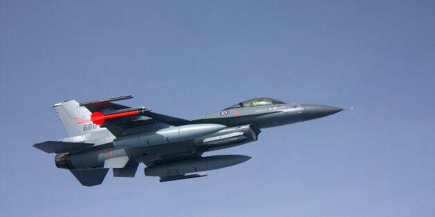 Lockheed Martin F-16 Fighting Falcon of the Norwegian Air