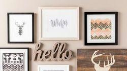 Γεμίστε τους άδειους τοίχους σας με αυτές τις 10 έξυπνες και δημιουργικές