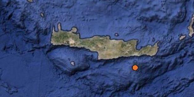 Σεισμός 3,1 Ρίχτερ στη θαλάσσια περιοχή νότια της