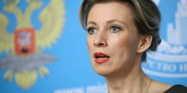 MOSCOW, RUSSIA. MARCH 17, 2016. The spokeswoman of the Russian Ministry of Foreign Affairs, Maria Zakharova,...